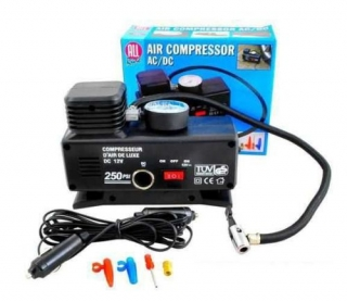 Gesom R3 kompresor 230/12V, max. 17Bar(250PSI)